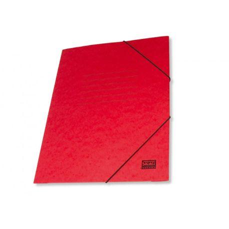 Mapa-carton-cretat-Skag-inchidere-cu-elastic-rosu