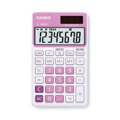 Calculator-de-birou-Casio-SL-300NC-8-digits-roz