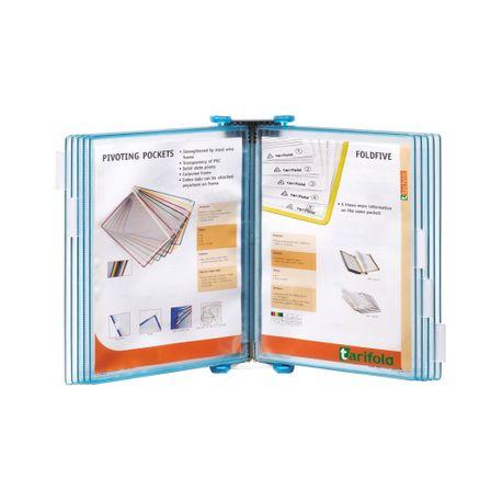 Sistem-de-prezentare-Tarifold-Candy-Line-A4-albastru