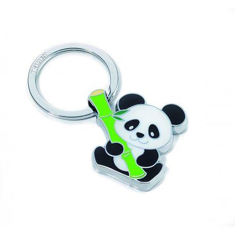 Breloc-metalic-Troika-Bamboo-Panda