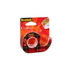 Dispenser-banda-adeziva-3M-Scotch-Crystal-Clear-19-mm-x-7.5-m-transparent