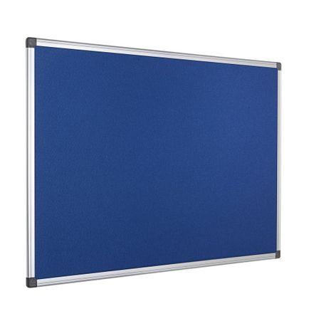 Panou-textil-Bi-Silque-rama-din-aluminiu-60-x-90-cm-albastru