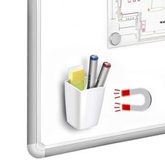Suport-magnetic-instrumente-de-scris-CEP-Gloss-alb