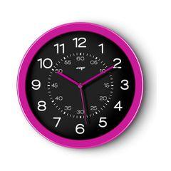 Ceas-de-perete-CEP-Gloss-30-cm-roz