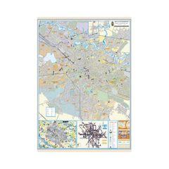 Harta-Bucuresti-100-x-140-cm-pe-panou-de-pluta