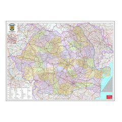 Harta-Romania-administrativa-100-x-140-cm-scara-1-570000