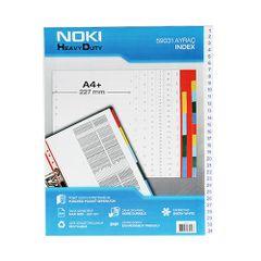 Index-plastic-Noki-A4--1-31-numerotat