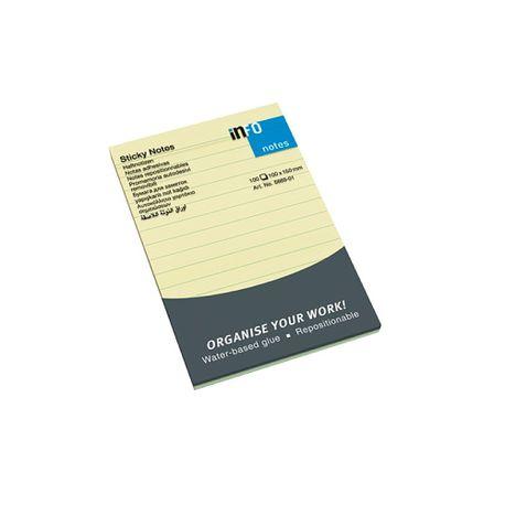 Notite-adezive-Info-Notes-100-x-150-mm-liniate-dictando