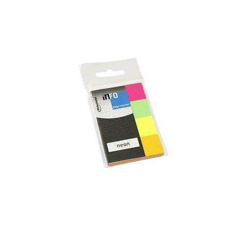 Notite-adezive-index-Info-Notes-20-x-50-mm-culori-neon
