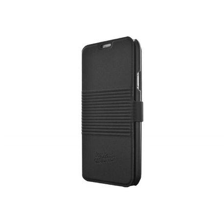 Book-Jean-Paul-Gaultier-pentru-Galaxy-S5-Can-Logo-piele-negru