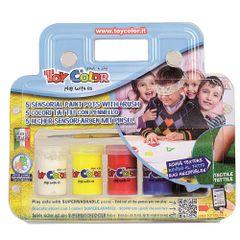 Set-tempera-senzoriala-Toy-Color-25-ml-5-culori