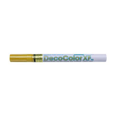 Marker-cu-vopsea-Uchida-215S-extra-fin-0.8-mm-auriu