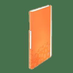 Mapa-de-prezentare-Leitz-Wow-cu-40-folii-portocaliu-metalizat