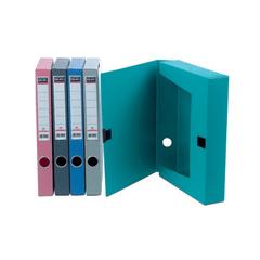 Cutie-arhivare-Skag-A4-3.7-cm-plastic-verde