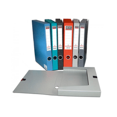 Cutie-arhivare-Skag-A4-6-cm-plastic-rosu