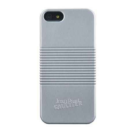 Capac-spate-Jean-Paul-Gaultier-pentru-iphone-55-Conservbox-argintiu