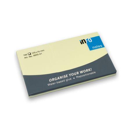 Notite-adezive-Info-Notes-125-x-75-mm