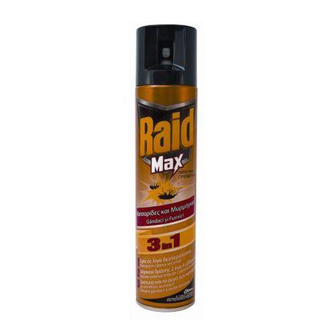 Spray-pentru-insecte-Raid-Max-3-in-1-300-ml