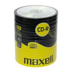 Set-CD-R-Maxell-700MB-52x-100-bucati