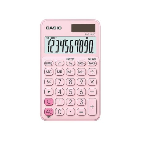 Calculator-de-birou-Casio-10-digit-roz