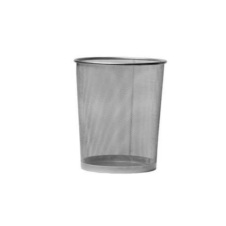 Cos-de-birou-metalic-8-l-gri