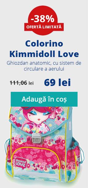Ghiozdan Kimmidoll -38%