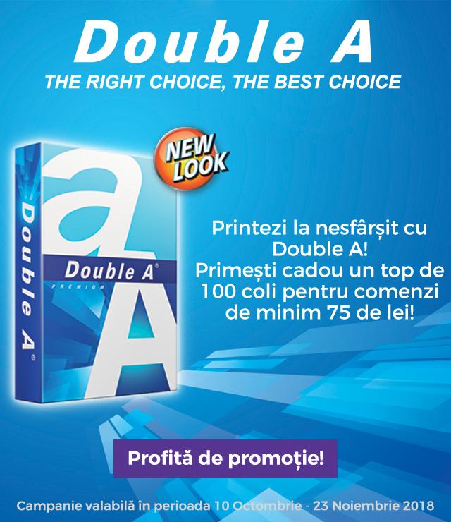Promo Double A