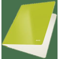 Dosar cu sina Leitz WOW, carton, verde metalizat