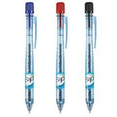 Pix-cu-bila-Pilot-Begreen-B2P-retractabil-0.7-mm-albastru-rosu-negru-blister-