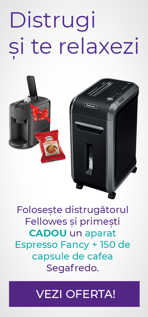 Fellowes + Segafredo