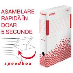 Cutie de arhivare Esselte Speedbox, 80 mm