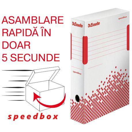 Cutie de arhivare Esselte Speedbox, 100 mm