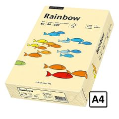 Hartie A4 Rainbow, 80 g/mp, 500 coli/top, chamois