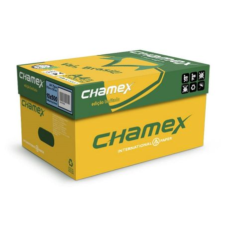 Hartie copiator A4 Chamex, 75 g/mp, 500 coli/top, 10 topuri/cutie