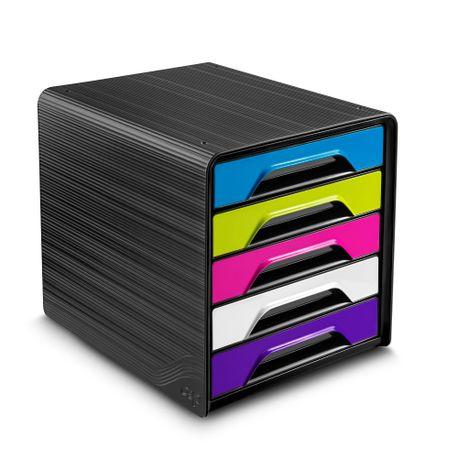 Suport 5 sertare CEP, multicolor gloss
