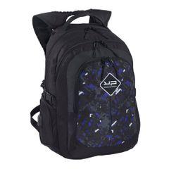 Rucsac laptop Bodypack fulger, 2 compartimente, port USB, negru