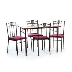 Set-masa-Victory---4-scaune-MDF-cires
