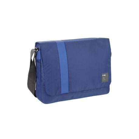 Geanta laptop Messenger Signal, albastru
