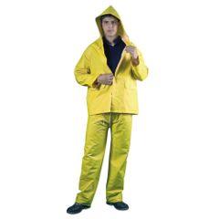 Costum-impermeabil-PVC-galben