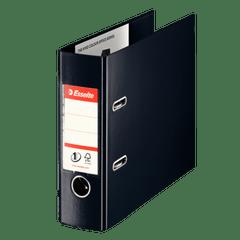 Biblioraft-Esselte-No.-1-Power-VIVIDA-PP-pentru-banci-7.5-cm-negru