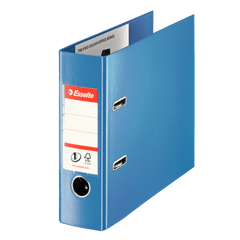 Biblioraft-Esselte-No.-1-Power-VIVIDA-PP-pentru-banci-7.5-cm-albastru