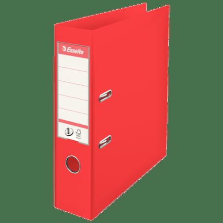 Biblioraft-Esselte-No.1-Power-VIVIDA-PP-A4-7.5-cm-rosu