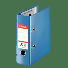 Biblioraft-Esselte-No.1-Power-VIVIDA-PP-A5-7.5-cm-albastru