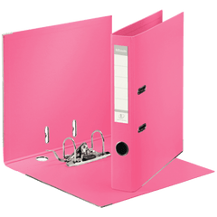 Biblioraft-Esselte-No.1-Power-PP-A4-5-cm-roz