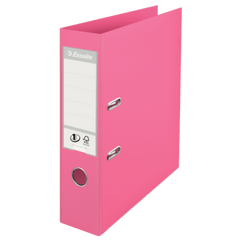 Biblioraft-Esselte-No.1-Power-PP-A4-7.5-cm-roz