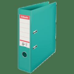 Biblioraft-Esselte-No.1-Power-PP-A4-7.5-cm-turcoaz