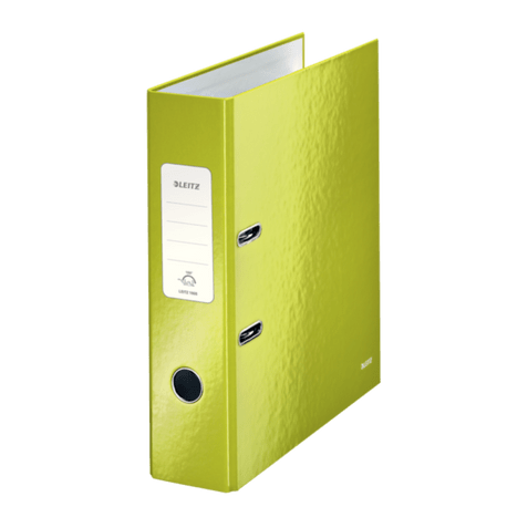 Biblioraft-Leitz-180-WOW-A4-8-cm-verde-metalizat1