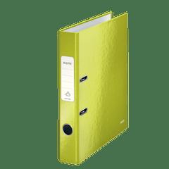 Biblioraft-Leitz-180-WOW-A4-5-cm-verde-metalizat1
