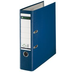 Biblioraft-Leitz-A4-cu-mecanism-180-8-cm-albastru