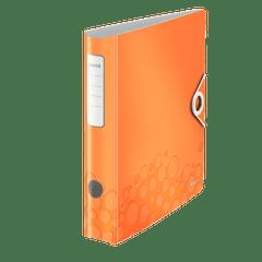 Biblioraft-Leitz-Active-WOW-180-PP-A4-5-cm-portocaliu-metalizat